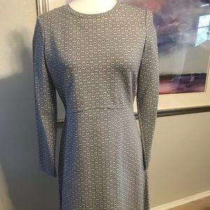 NWT Tory Burch Corinne Dress chainlink pattern